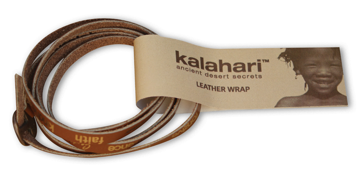 Kalahari Leather Wrap