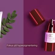 Fokus på hyperpigmenterad hud